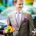 Свадьба в стиле радуга