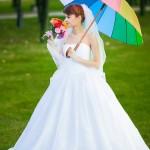 Свадьба Кати и Миши или Свадьба всеми цветами радуги!