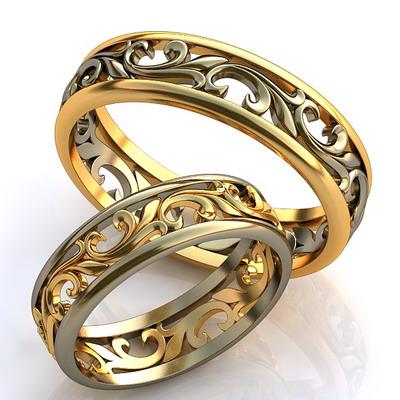 Обручальные кольца гравировка
