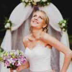 Лиловая свадьба с лавандой