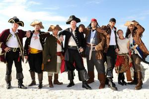 Тематические свадьбы Пираты карибского моря