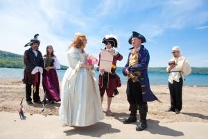 Тематические свадьбы - Пираты карибского Моря