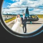 Вертолет на свадьбу