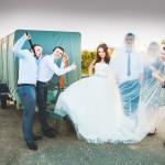 Вертолет на свадьбу Сергея и Алины