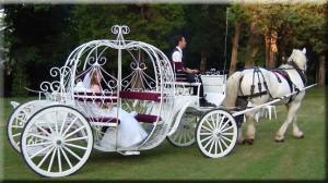 Свадьба в стиле золушки Карета
