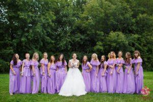 Свадьба в усадьбе Коломенское