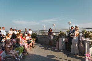 Свадьба на крыше Отеля
